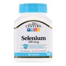 21st Century Selenium 200 микрограмм 60 капсул