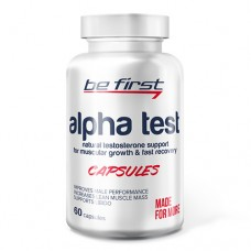 Be First Alpha Test 60 капсул