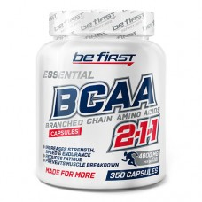 Be First BCAA Capsules 500 миллиграмм 350 капсул