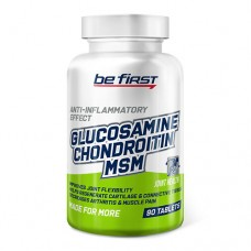 Be First Glucosamine Chondroitin MSM 90 таблеток