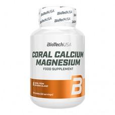 BioTechUsa Coral Calcium Magnesium 100 таблеток