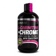 BioTechUsa L-Carnitine + Chrome 500 миллилитров