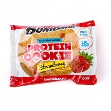 Bombbar Protein Cookie Strawberry 60 грамм