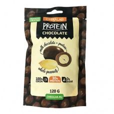 Chikalab Protein Chocolate Арахис в шоколаде 120 грамм