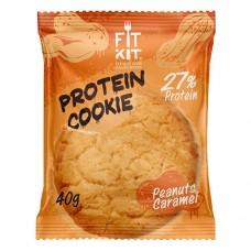 Fit Kit Protein Cookie Peanuts Caramel 40 грамм