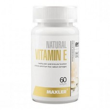 Maxler Vitamin E 150 грамм 60 капсул