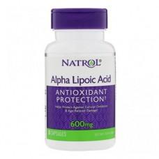 Natrol Alpha Lipoic Acid 600 миллиграмм 30 капсул