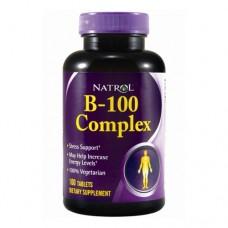 Natrol B-100 Complex 100 таблеток