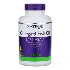 Natrol Omega-3 Fish Oil 150 капсул