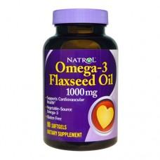 Natrol Omega-3 Flaxseed Oil 90 капсул