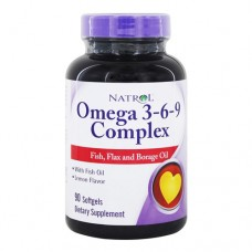 Natrol Omega 3-6-9 Complex 90 капсул