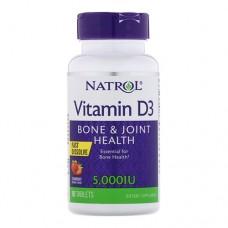 Natrol Vitamin D3 5,000 IU 90 таблеток