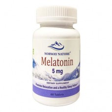 Norway Nature Melatonin 60 таблеток