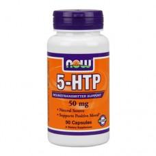 NOW 5-HTP 50 миллиграмм 90 капсул