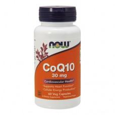 NOW CoQ10 30 миллиграмм 60 капсул