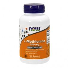 NOW L-Methionine 500 миллиграмм 100 капсул