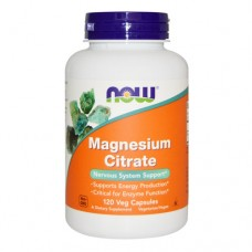 Now Magnesium Citrate 500 миллиграмм 120 капсул