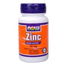 NOW Zinc 50 миллиграмм