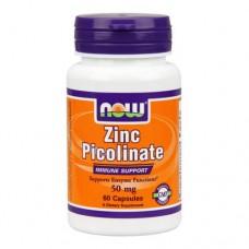 NOW Zinc Picolinate 60 капсул