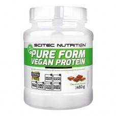 Scitec Nutrition Pure Form Vegan Protein 450 грамм