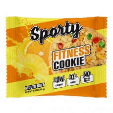 Sporty Fitness Cookie Мультифрукт 40 грамм