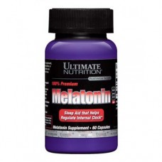 Ultimate Nutrition Premium Melatonin 60 капсул