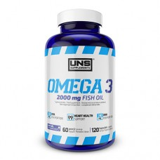 UNS-SUPPLEMENTS Omega 3 2000 mg Fish Oil 120 капсул